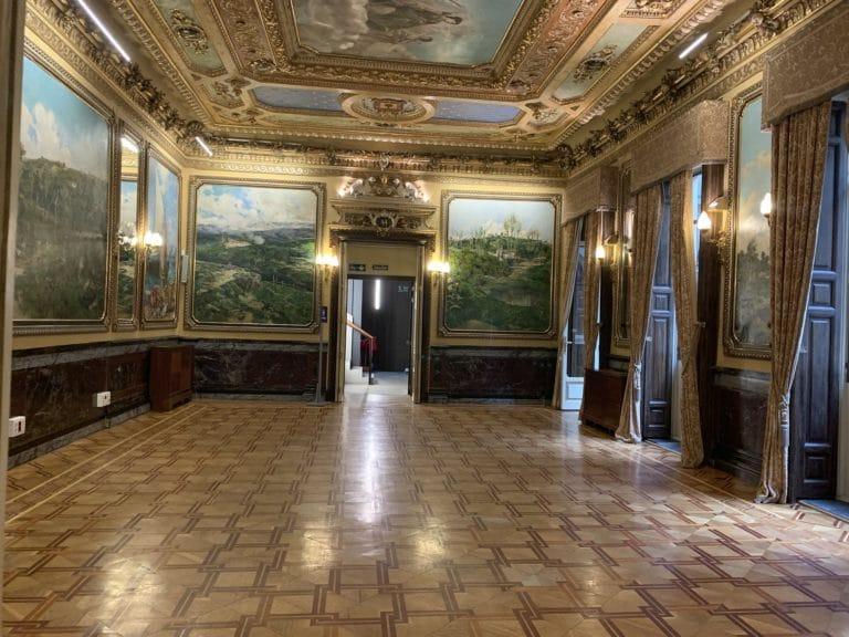 el salon de casa Palacio Santona Madrid Espagne