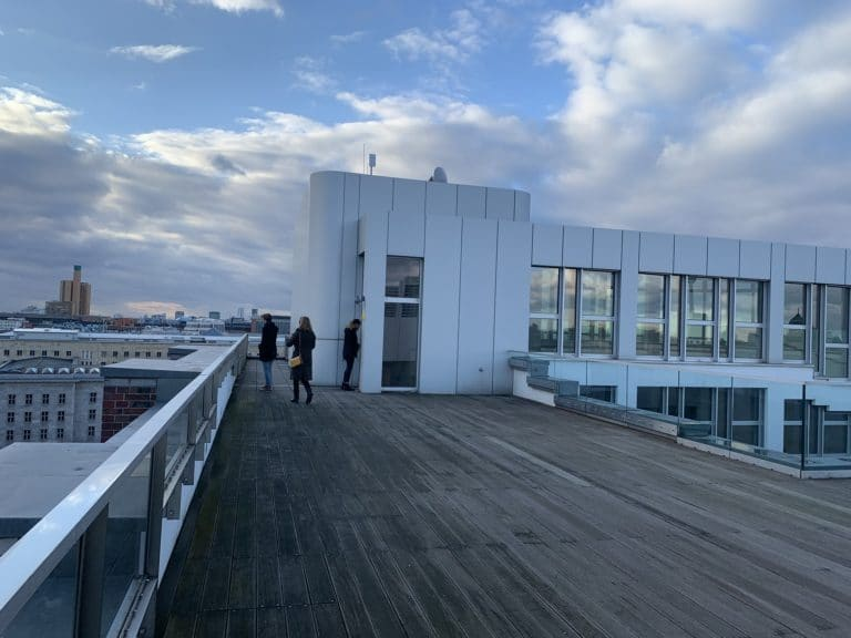 ewerk rooftop loft evnementiel berlin vue spectaculaire