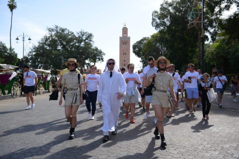 foulques jubert agence WATO marrakech medina costume espion maroc