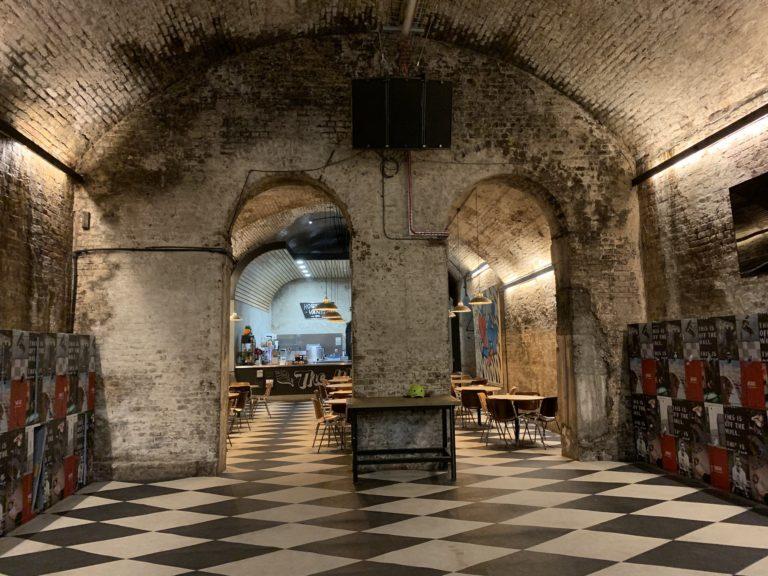 house of vans london underground bunker briks james bond skyfall shooting venue londres united kingdom