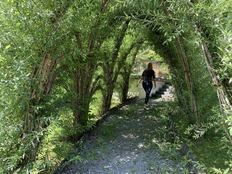 labyrinthe vegetal jardin grand hotel giessbach brienz suisse