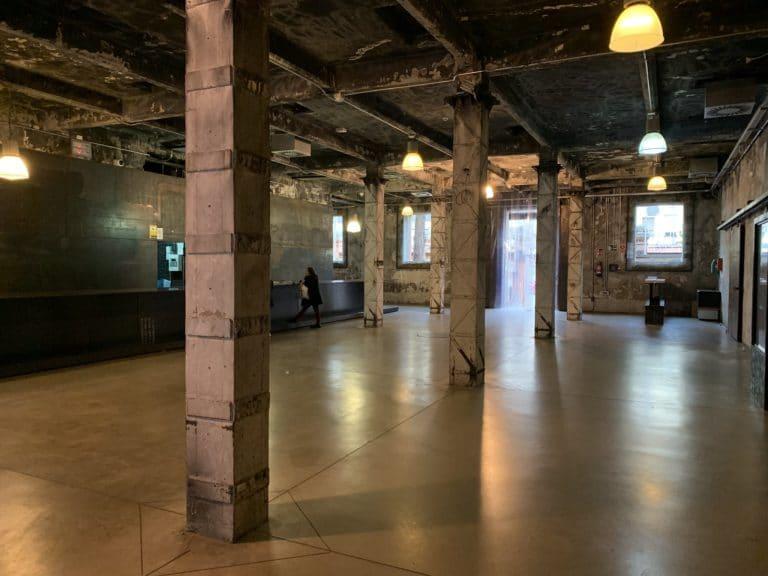 lieux evenementiel underground Madrid Matadero Madrid