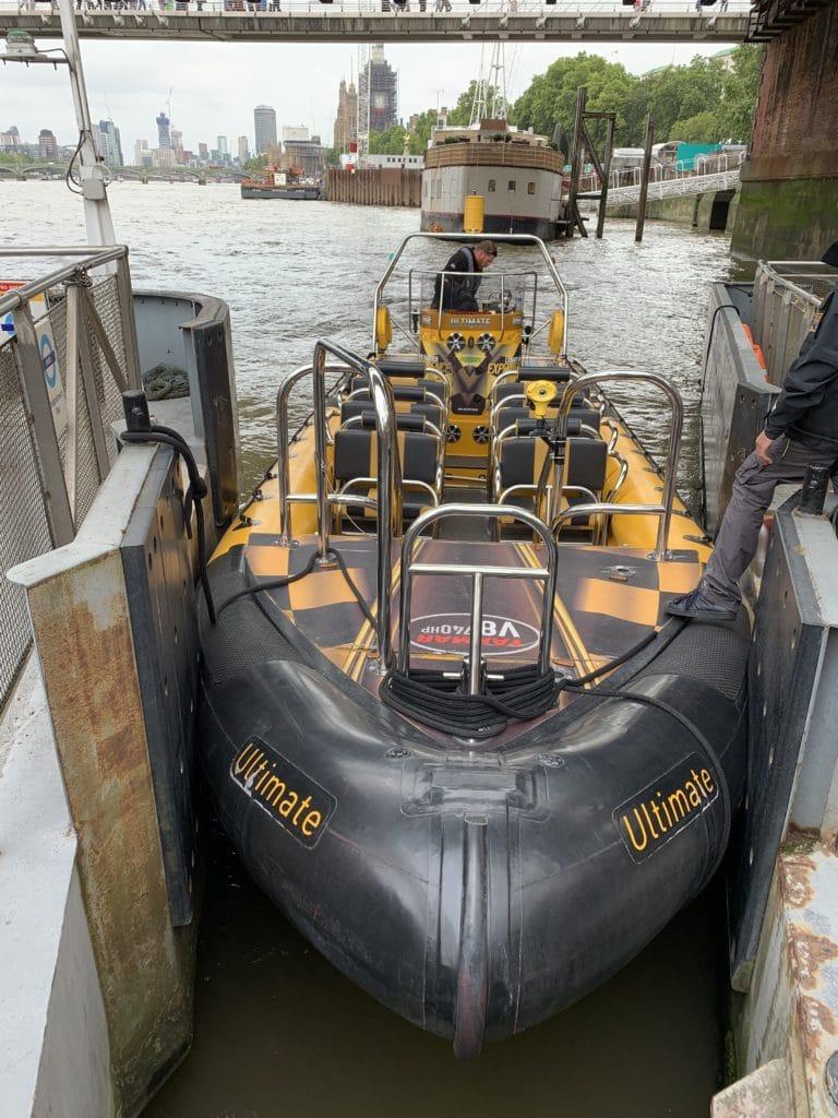 thames rib experience speedboat zodiac londres sur la tamise