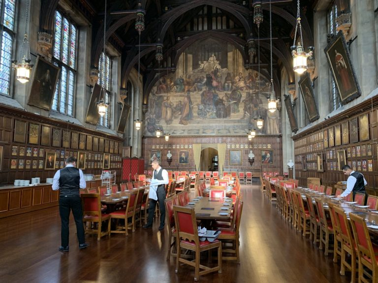 the great hall the honorable society of lincoln inn inside london united kingdom