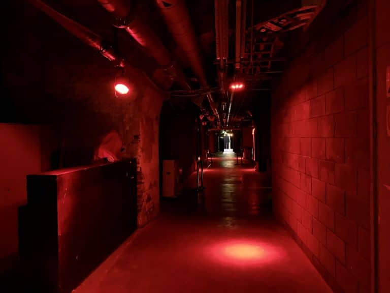 the vaults london red corridor underground mysterious londres event venue