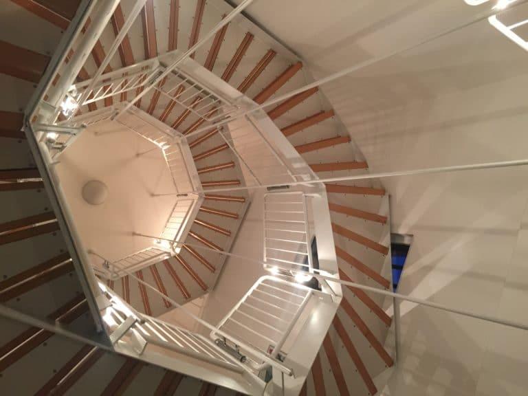 tour escalier usine turbinenhalle berlin