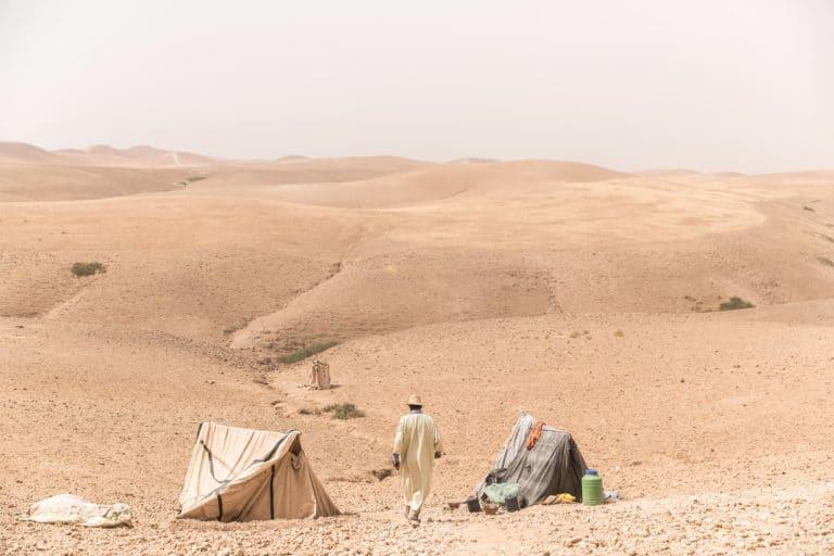 vision desertique desert agafay marrakech maroc