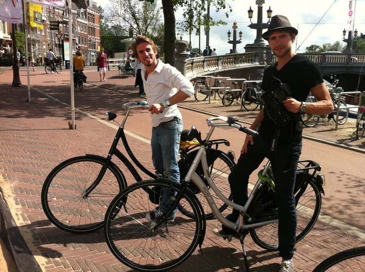 FJ et DD amsterdam world party tour