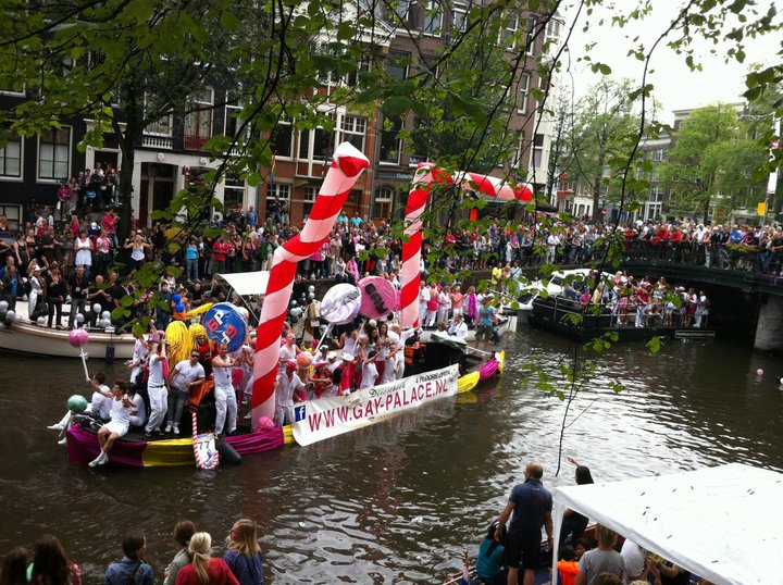Gay Palace Amsterdam floating gay pride 2011 world party tour