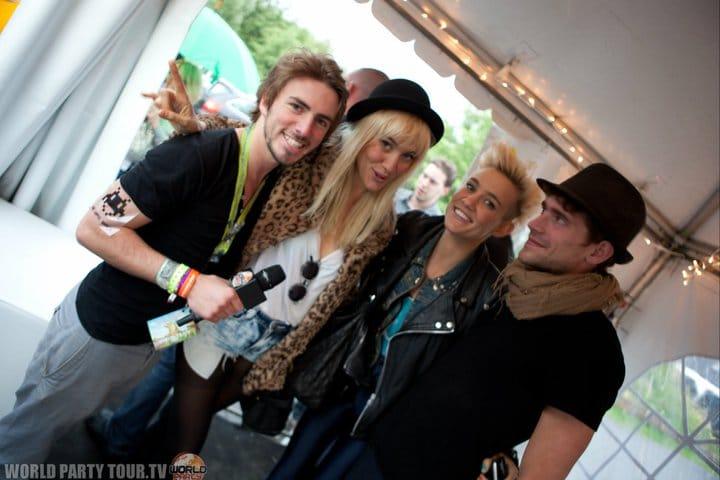 ITW Nervo Tomorrowland 2011 world party tour