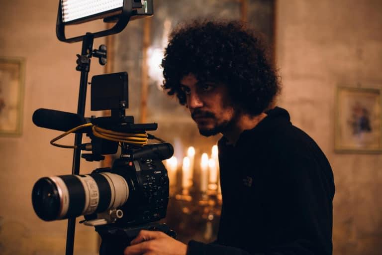 Raphael Gatti tournage a venise pour agence WATO et le projet venise sous paris