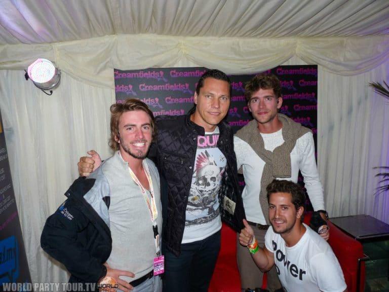 Tiesto creamfields 2011 world party tour