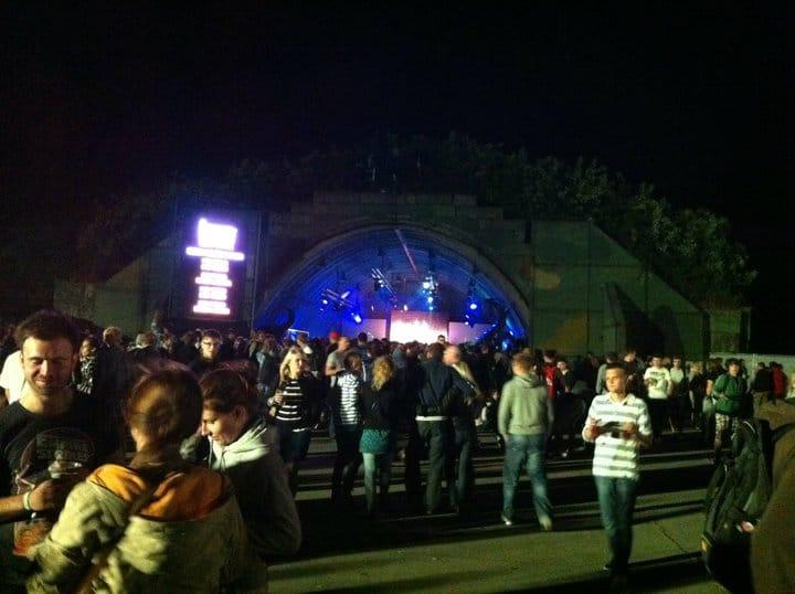 bunker stage heineken opener festival 2011 world party tour