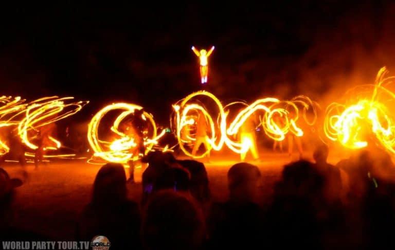 burning man 2011 feu world party tour
