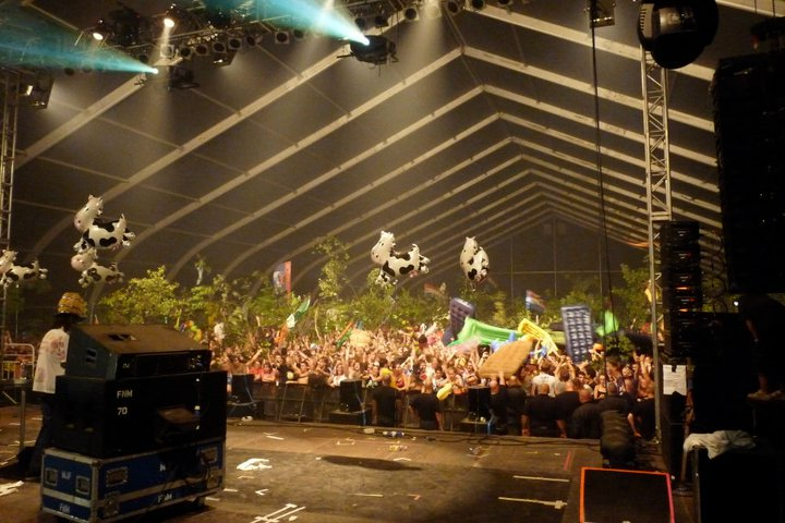 concert hollandais branches Sziget 2011 world party tour