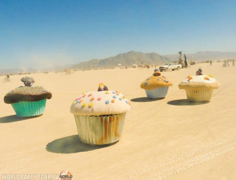cupcake mobile burning man 2011 world party tour