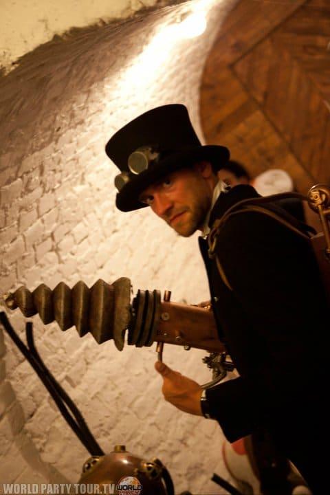 delphin druelle steampunk costume exit festival 2011 world party tour