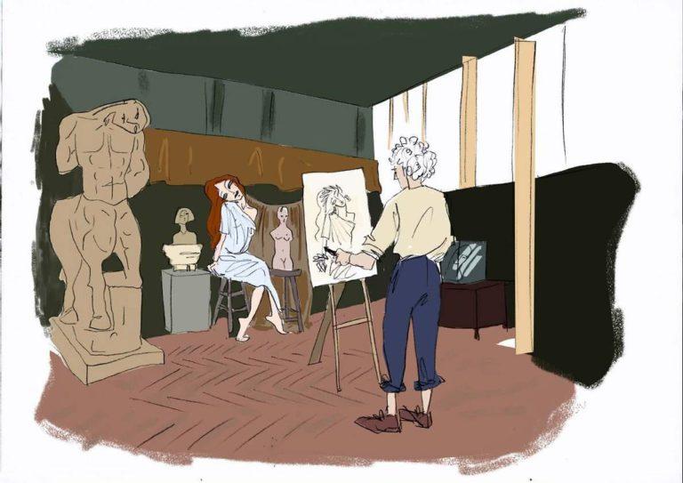 dessin peintre musee bourdelle rough evenementiel