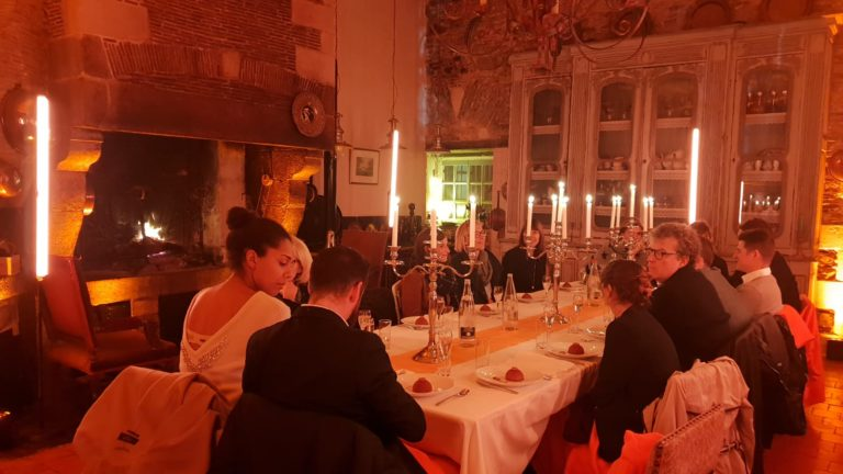 diner leboncoin wato we are the oracle evenementiel soiree rennes chateau boschet cuisine ax1