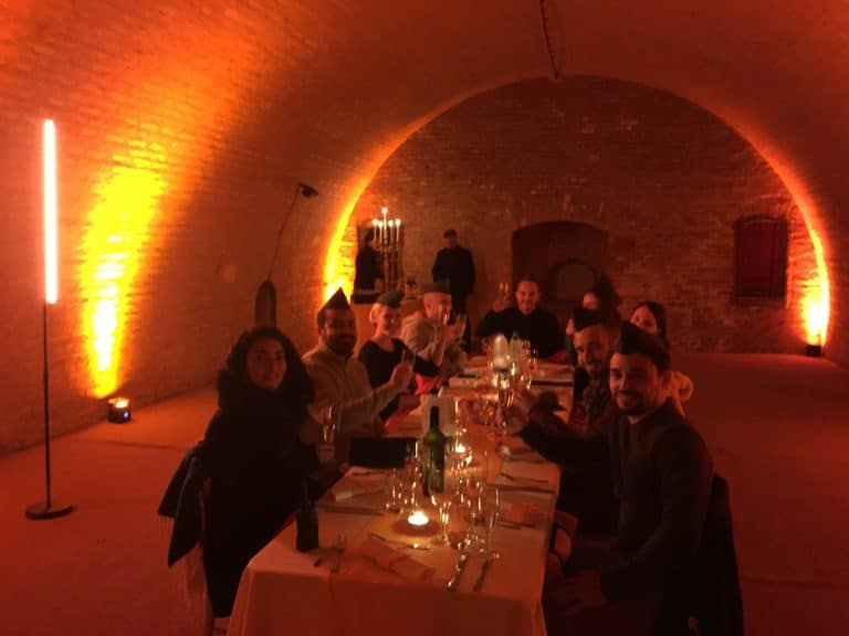 diner leboncoin wato we are the oracle evenementiel soiree strasbourg fort baden caponniere table ax1