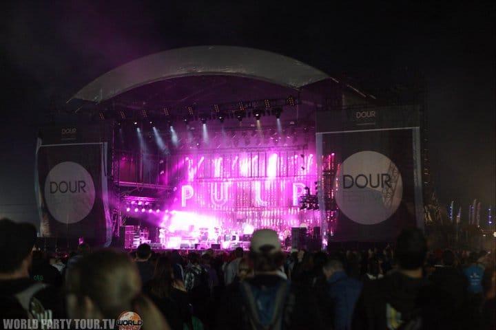 dour festival 2011 main stage world party tour