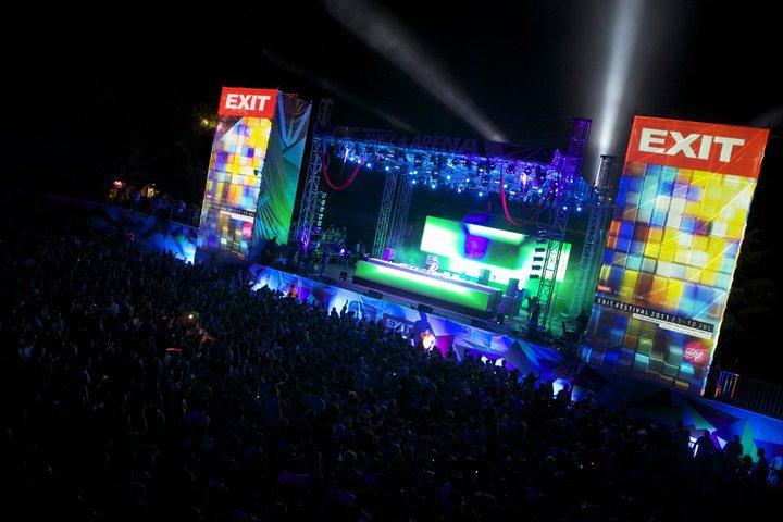 exit festival 2011 dance arena world party tour