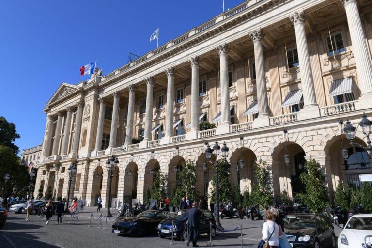 facade Automobile Club de France place de la concorde paris lieu evenementiel prestige paris agence wato