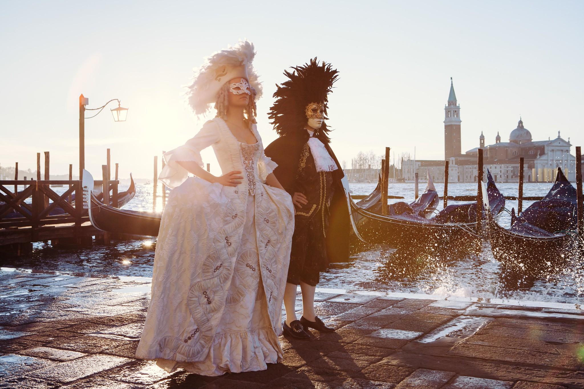 Immersive shooting in Venice: Venice Under Paris