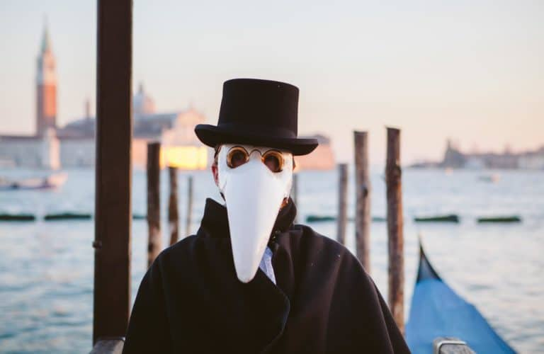 masque doctor venise zoom lagune
