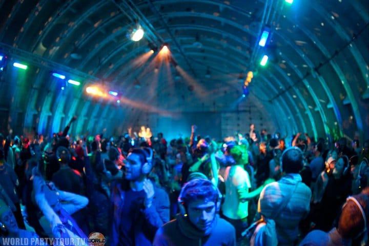 party in a bunker heineken opener festival 2011 world party tour