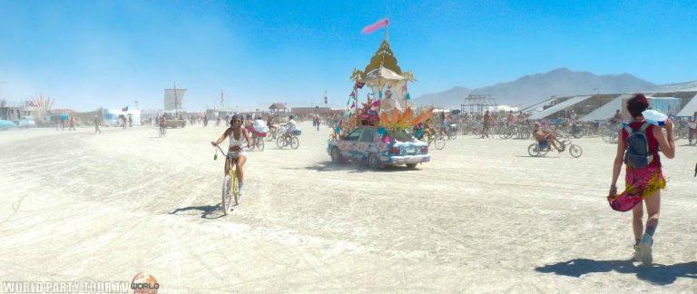 playa burning man 2011 world party tour