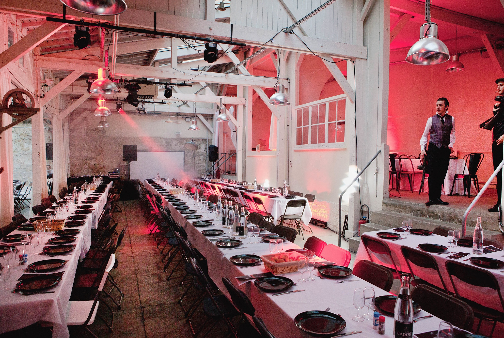 An unusual event: The Cosa Nostra Dinner