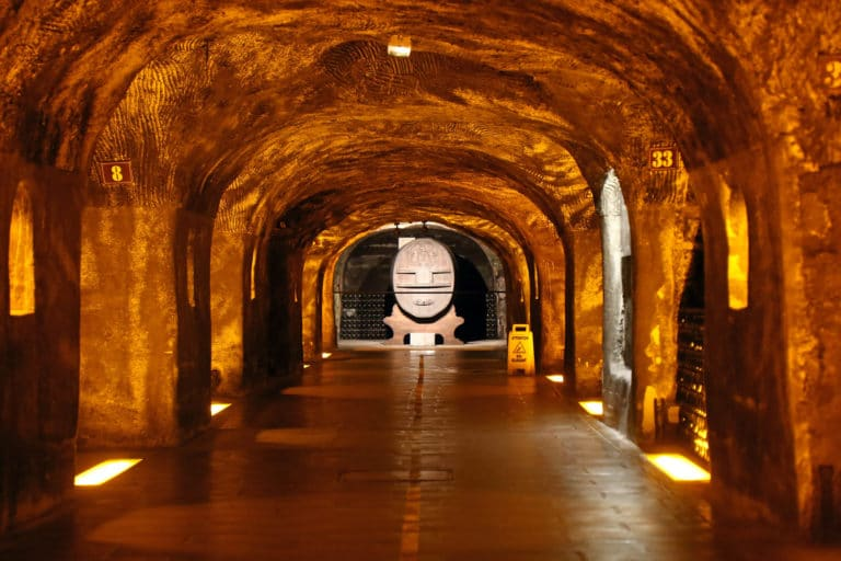 visite caves moet & chandon prestige insolite champagne ardennes france mount vernon usa agence wato we are the oracle evenementiel event
