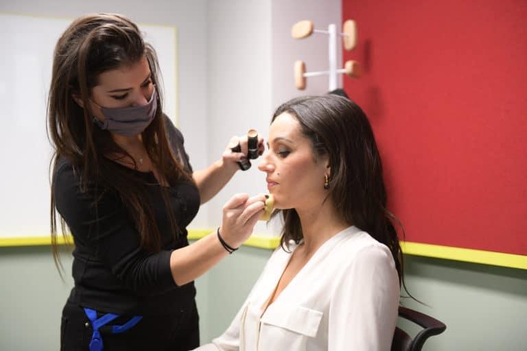 Ambre Larrazet make up Sylvie Goncalves Agence WATO The Prime Show